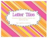 Word Work Manipulative Cards