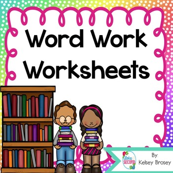 Word Work Materials