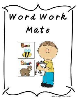 Word Work Mats