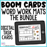 Word Work Mats Boom Cards - The Bundle Distance Learning