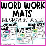 Word Work Mats - THE BUNDLE