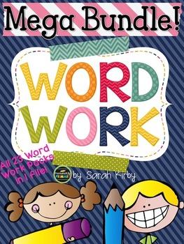 Word Work Mega Bundle