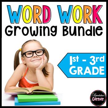 Word Work Growing Bundle