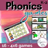 Phonics Activities Mini Center Games