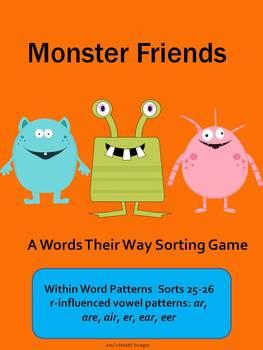 Word Work: Monster Friends