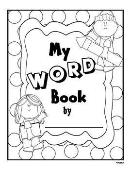 Word Work: My Word Book
