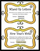Word Work Task Cards - NEW YEARS
