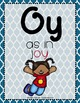 Word Work - OI-OY Diphthong Sorting Center {ABC Order, Anc