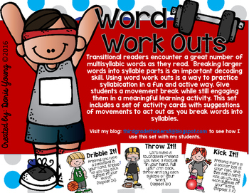 Word Work Outs: Active Syllabication Practice
