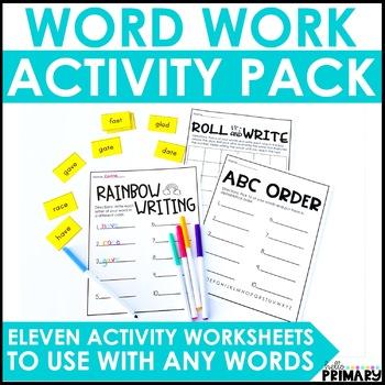 Word Work Pack!