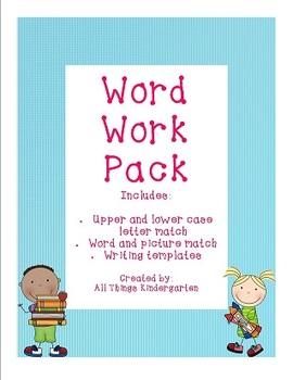 Word Work Pack