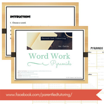 Word Work Pack - Spelling & Sight Words - Task Cards, Templates & Activities