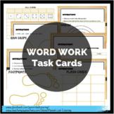 Word Work Pack - Spelling & Sight Words - Task Cards, Temp