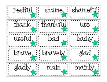 Word Work Pack- Suffixes (Common Core Aligned)