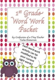 Word Work Packet! {EDITABLE}
