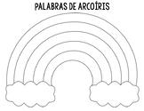 Word Work-Palabras de Acroiris/Rainbow Words