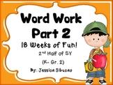 Word Work - Set 2