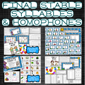 Phonics and Word Work Activities Bundle