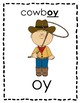 Word Work Phonics Picture Word Sort - OY vs. OI
