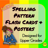 Spelling Pattern Flash Cards and Posters