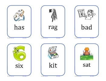 Word Work Picture Cards for Unit 1 Texas Treasures