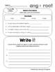 Word Work Practice ~ Roots