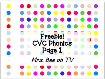 Word Work Practice: Writing CVC Words on Cards