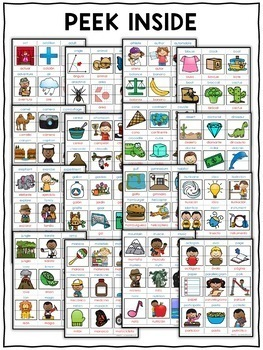 Spanish Cognate Activity Puzzles