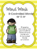 Word Work: R Controlled Words (ar & or)