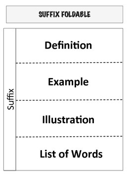 Word Work Reproducibles and Foldables