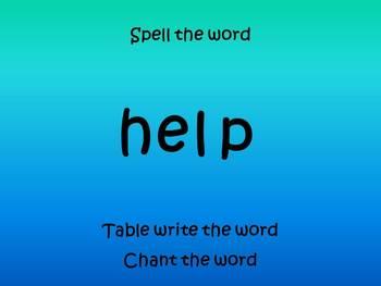 Word Work Routine Powerpoint