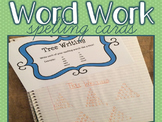 Word Work Task Cards - SPELLING