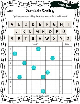 Word Work: Scrabble Spelling and Typing Agent