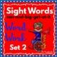 Kindergarten - Special  Education - Sight Word Bundle Sets 1 2 3 4