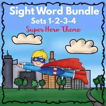 Kindergarten - Special  Education - Sight Word Bundle Sets