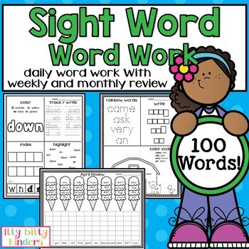 Sight Words: Word Work