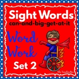 Kindergarten- Special Education - Sight Words  Set 2 (Super Hero Theme)