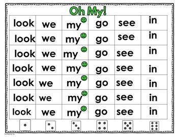 Kindergarten- Special Education- Sight Word  Set 3 ( Super Hero Theme)
