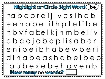 Kindergarten - Special Education-Sight Word  Set 5 (Super Hero Theme)