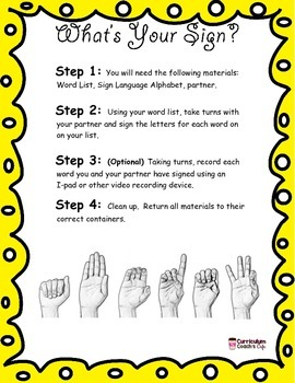 Word Work Sign Language