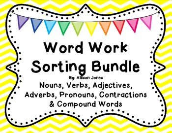 Word Work Sorting Mega Pack