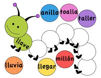 Word Work: Spanish Word Pattern Sort - Intermediate