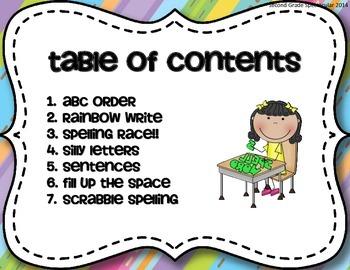 Word Work: Spelling