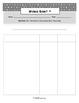 Word Work Spelling Activity - Blank Word Sorts (2, 3, 4, 5