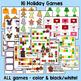 Word Work & Spelling All Year! Word Sorts, Games, & Worksheets