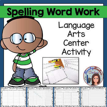 Word Work & Spelling Homework