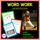 Word Work Sports Edition