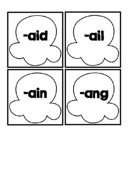 Word Work Station | Long Vowels