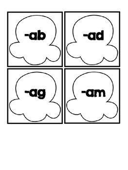 Word Work Station | Short Vowels