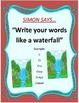 Word Work Station-Simon Says